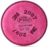 3M P100 with nuisance level Acid Gas* Filter