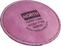 North Low Profile P100 Particulate Filter 75FFP100NL