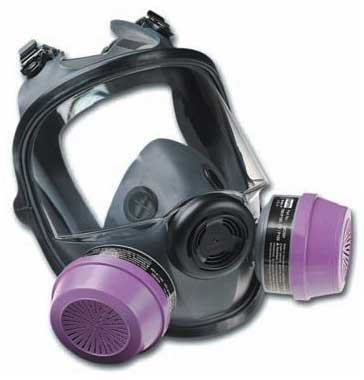 North 54001 Series - Full Facepiece Mask Respirator