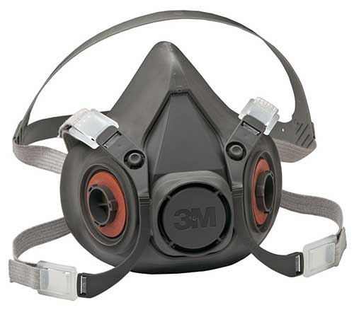 3M 6300 Series - Half Face Mask Respirator (Large)
